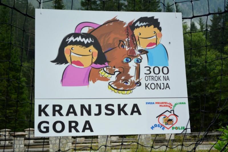 300 otrok na konja - Kranjska gora